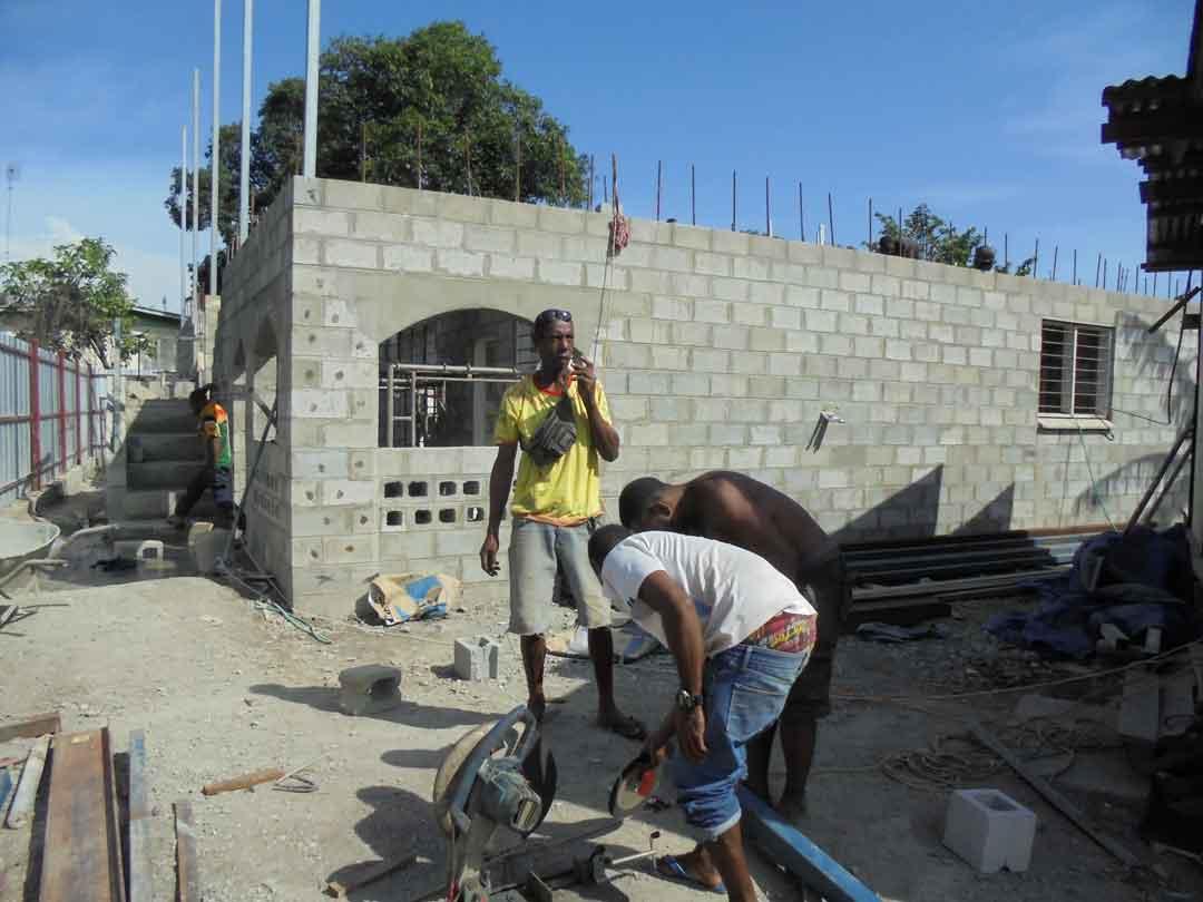 Wapco builders working progress