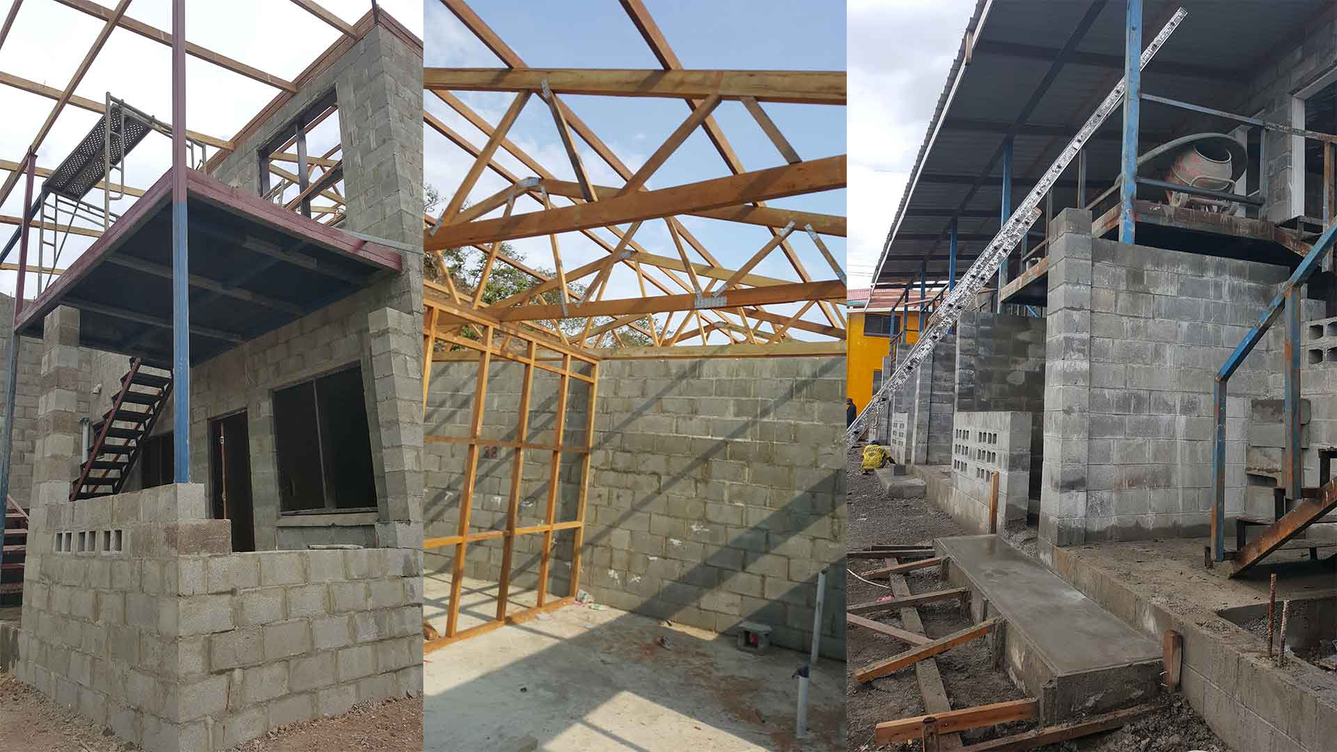 Complex office space construction by Wapco Builders - Lae