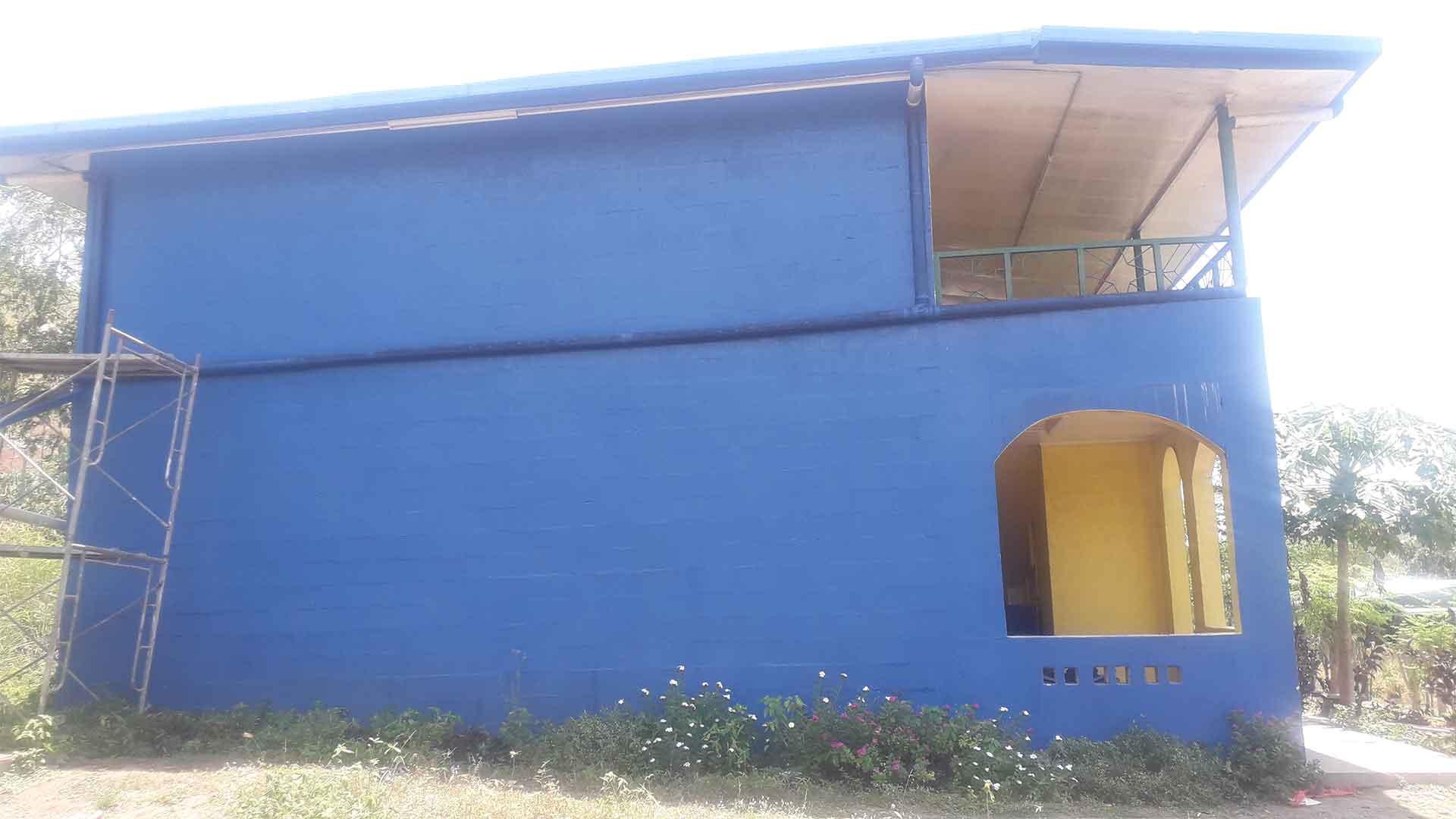 building under construction by Wapco Builders - Taurama