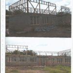 Wardstrip Primary School classroom under construction by Wapco Builders