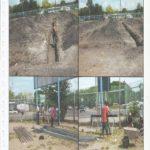 Wardstrip Primary School classroom foundation set by Wapco Builders