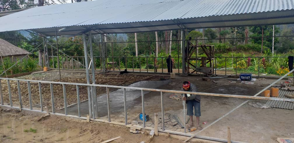 Church under construction by Wapco Builders