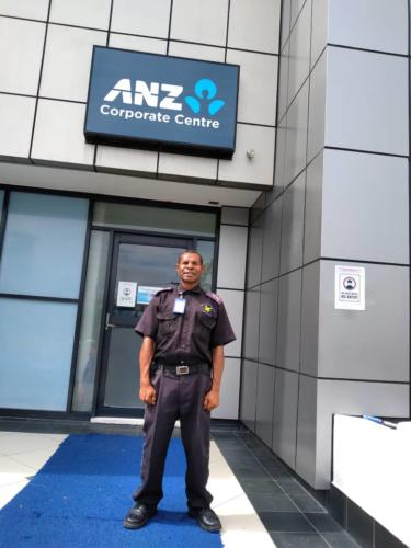 Wapco Security guarding ANZ corporate center