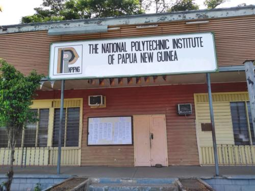 The National POLYTECHNIC institute guarded by Wapco Security Service