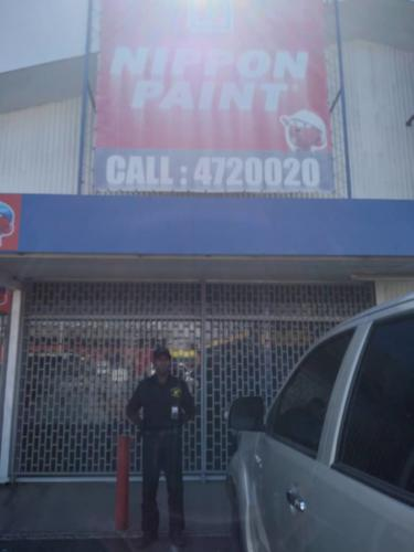 Nippon Paint office guarded by Wapco Security SErvice