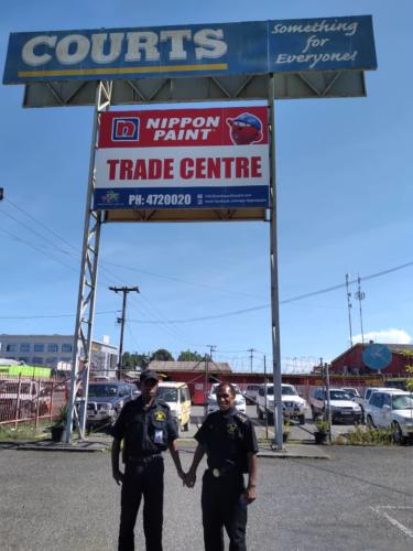 Lae Courts guarded by Wapco Security Service