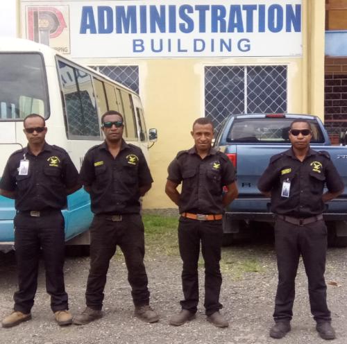 Wapco Security Guarding Lae National Polytech